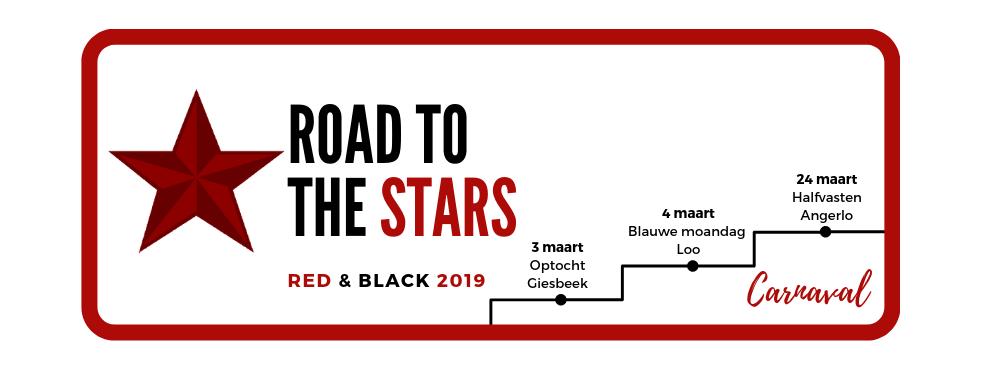 Drum- en Showfanfare Red and Black